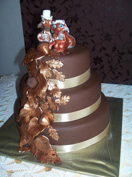 Jamajka{{_AND_}}Rudinko - Hlavná svadobná torta.