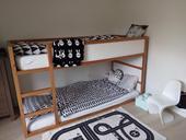 KURA Ikea Oboustranná postel ,