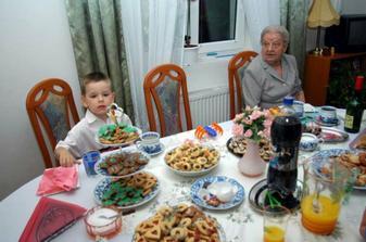 Mirkova babička a Vojta