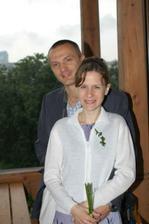 svědkyně s manželem