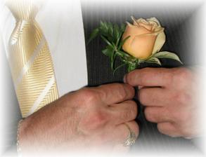 kytička do klopy pro ženicha
