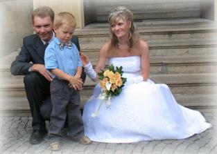 s mým bráškou a synovečkem