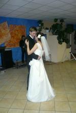 ....prvý novomanželský tanček...