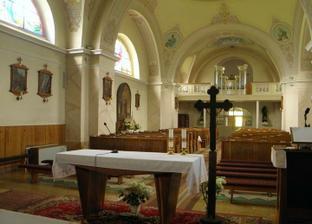 kostol z vnútra
