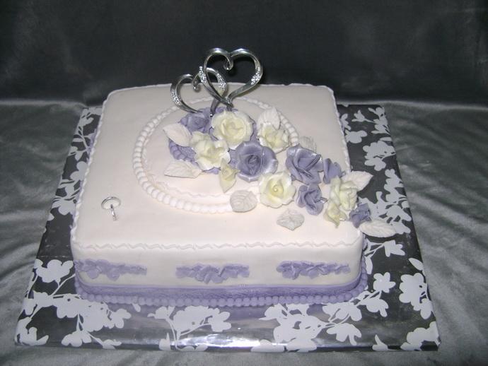 Svadobná torta - Obrázok č. 7