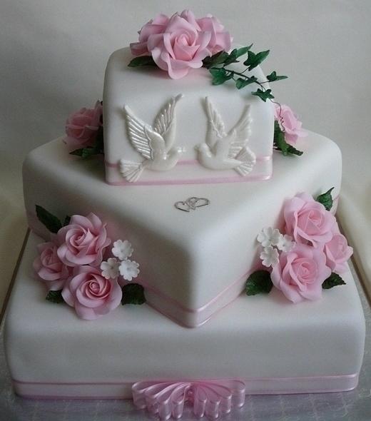 Svadobná torta - Obrázok č. 9