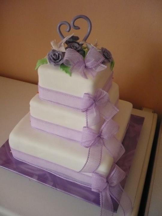 Svadobná torta - Obrázok č. 10