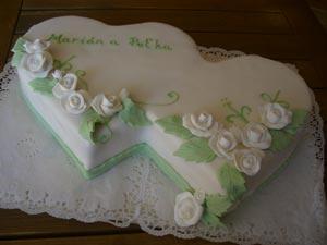 Svadobná torta - Obrázok č. 11