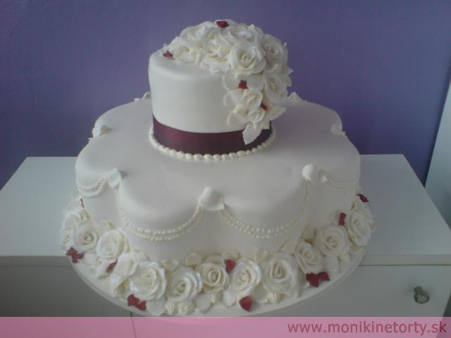 Svadobná torta - Obrázok č. 13