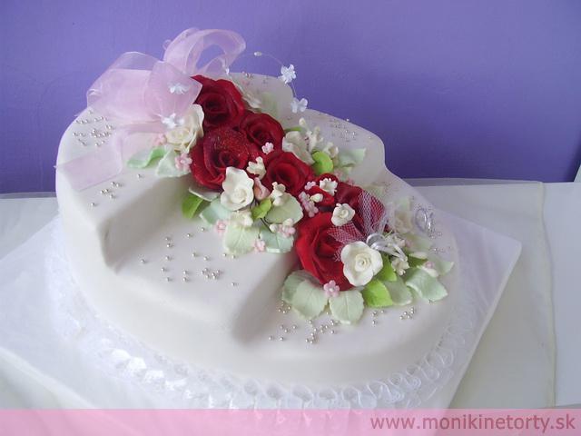 Svadobná torta - Obrázok č. 14