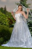 Svatební šaty 42-46, 44