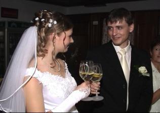 Prvý manželský prípitok