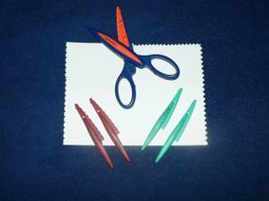 dekorativní nůžky