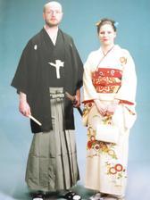 Předsvatební cesta do Japonska - focení  v kimonech