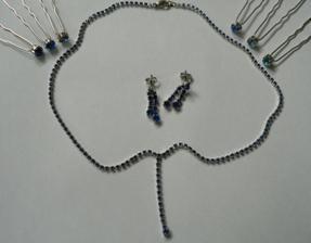modré šperky, když už nebudou modré šaty :-)
