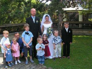 jedna fotka se všemi dětmi