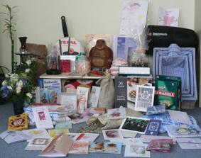 svatební dary a blahopřání :-) všem moc děkujeme :-)