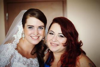 moja svedkyňa a úžasná kamarátka so svadbou mi veľmi pomohla :)