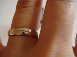 detail prstýnku