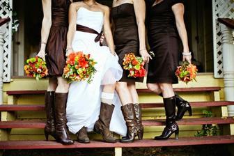čokoládová svatba :)
