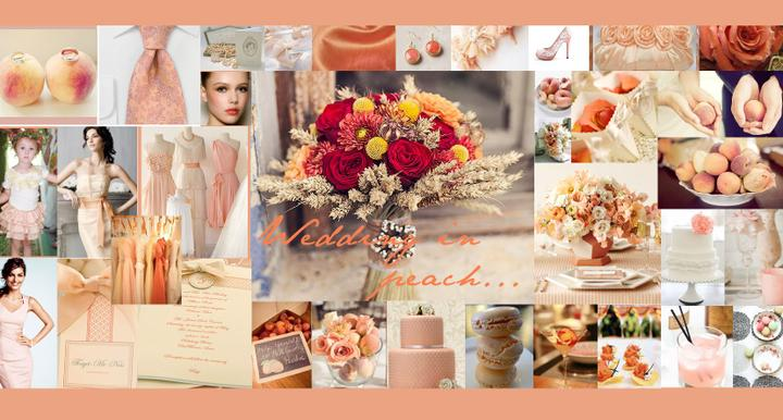 My wedding in peach - Obrázek č. 1