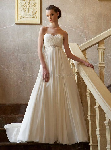 MY wedding in peony and peach - Jasmine Bridal, ivory