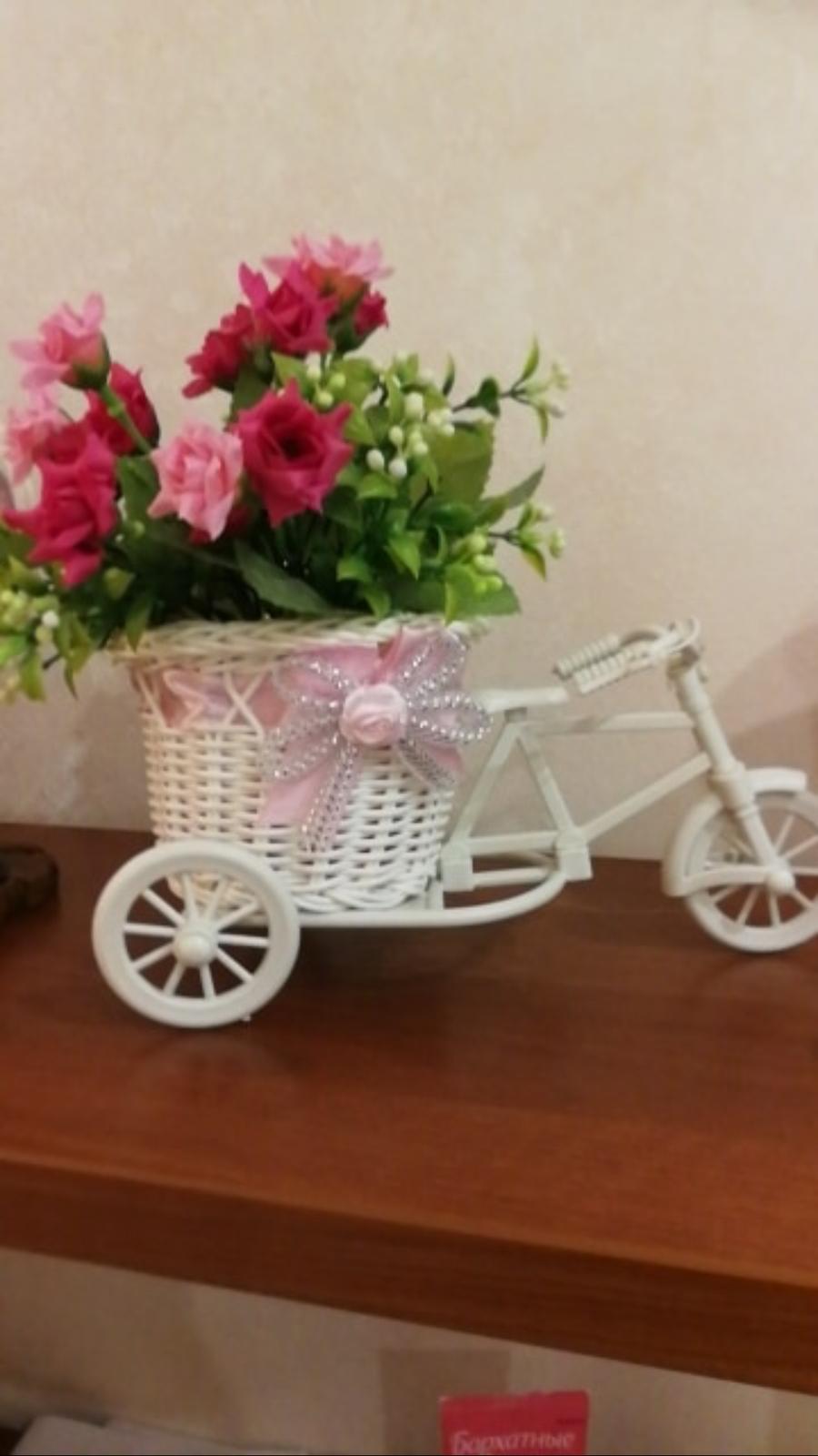 Bicykel dekoracia (napr na kvietky) - Obrázok č. 1