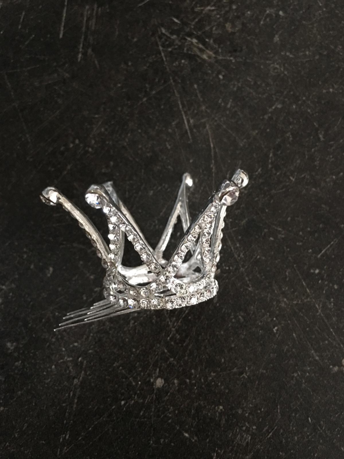Korunka do vlaskov pre malu princeznicku -nenosena - Obrázok č. 2