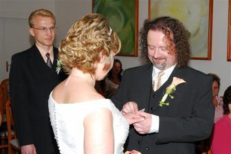 prstýnek nevěstě