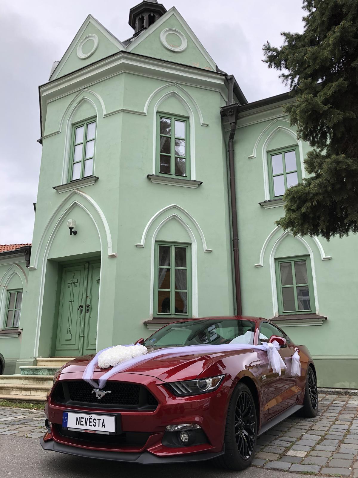 Mustangem na svatbu - Obrázek č. 5
