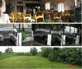 Tak tady je naše změněné místo - restaurace+terasa+zahrada kde bude obřad