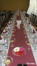 v sobotu jsme dělali s kamarádkou svatební výzdobu