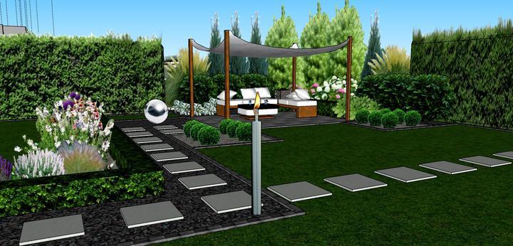 3D navrh zahradky - Obrázok č. 1