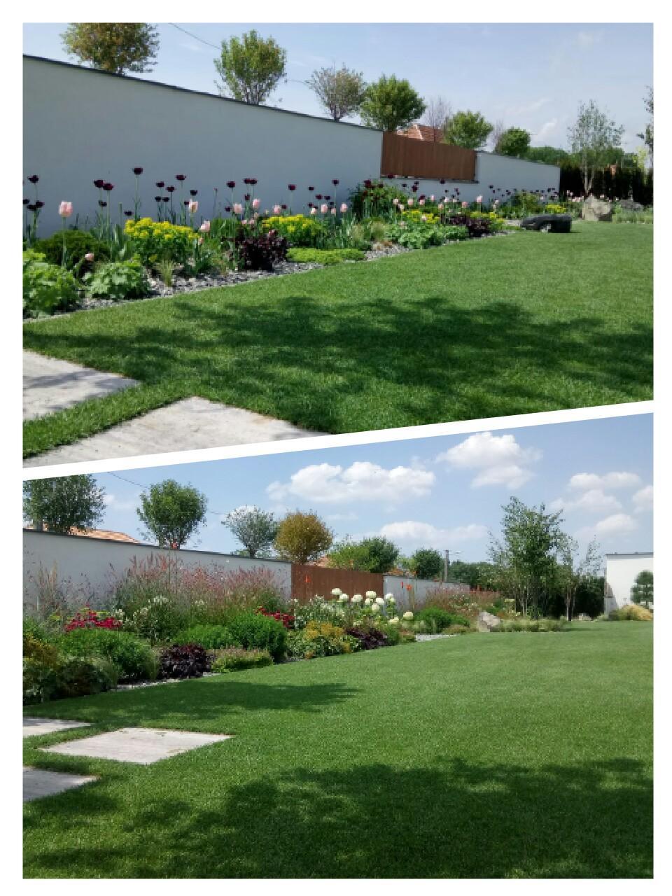Zahrada 2017 - April verzus jul