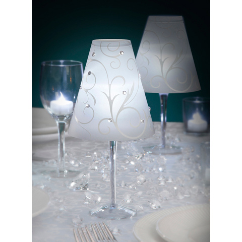 Prípravy a všetko s tým súvisiace - Naše lampičky ..na stoloch budú úžasné :-)