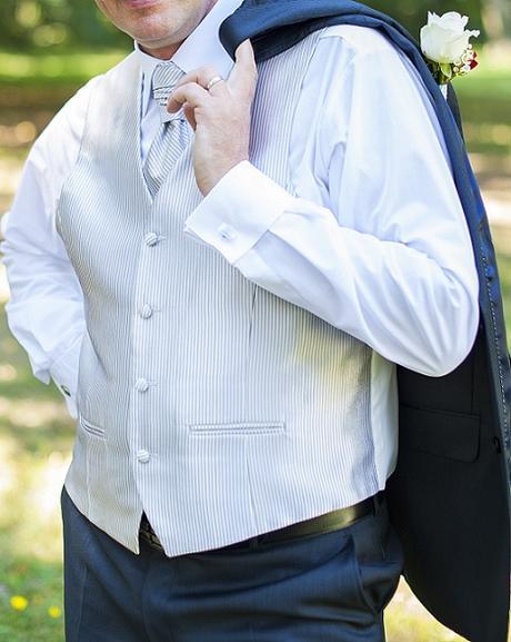Svadobná vesta a francúzska kravata - Obrázok č. 1