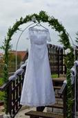 Svadobné šaty v.36-38, 36