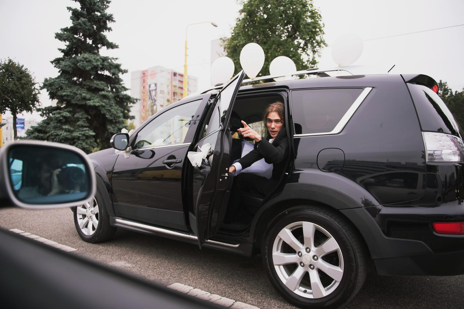 Tinka{{_AND_}}Boris - Naše originálne balónové auto :D