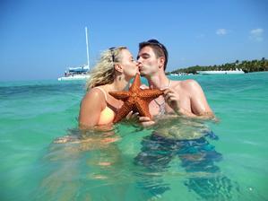 Kúpanie s morskými hviezdicami
