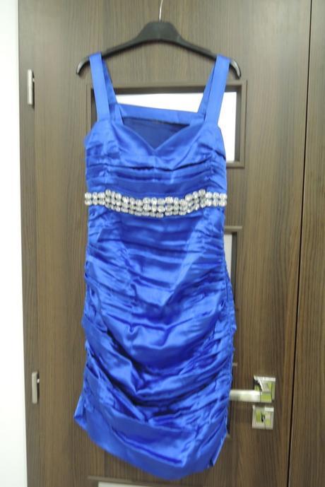 Modré šaty šité na mieru - Obrázok č. 4