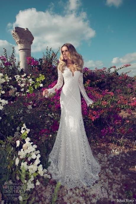 Čipkované svadobné šaty s vlečkou. - Obrázok č. 4