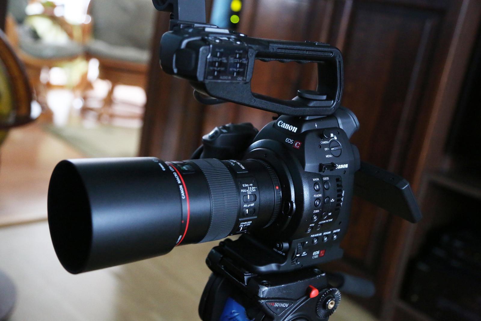 videostudiojarka - Pre rok 2015 nové kamery Canon C 100 sú zárukou tej najvyššiej kvality .