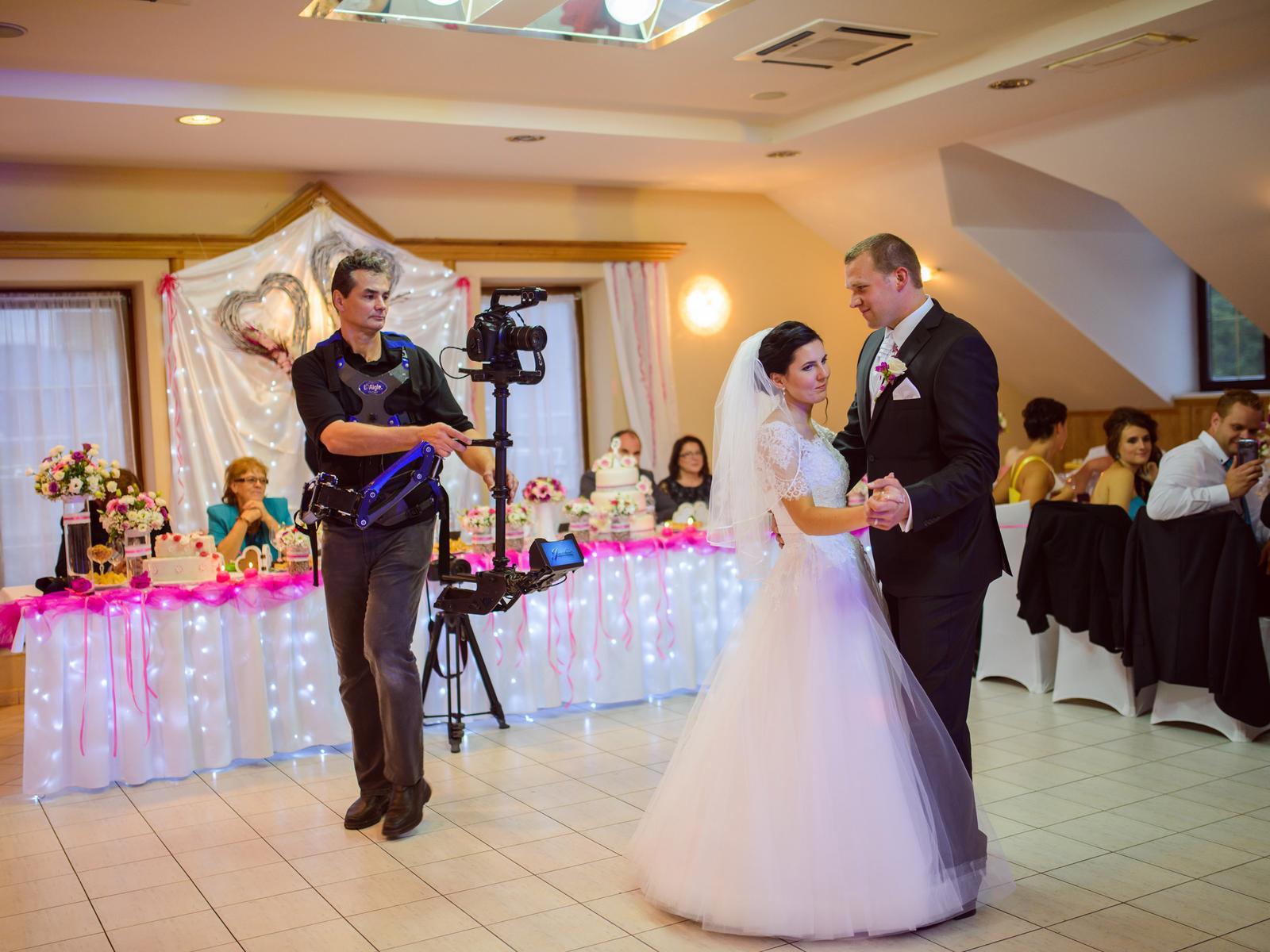 videostudiojarka - Prvý tanec - kamerový stabilizátor - steadicam Eagle + Canon C100