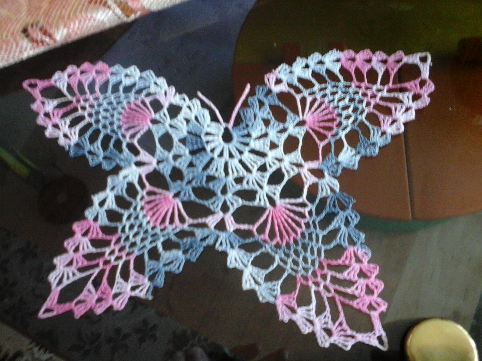 hačkovany motyl - Obrázok č. 1