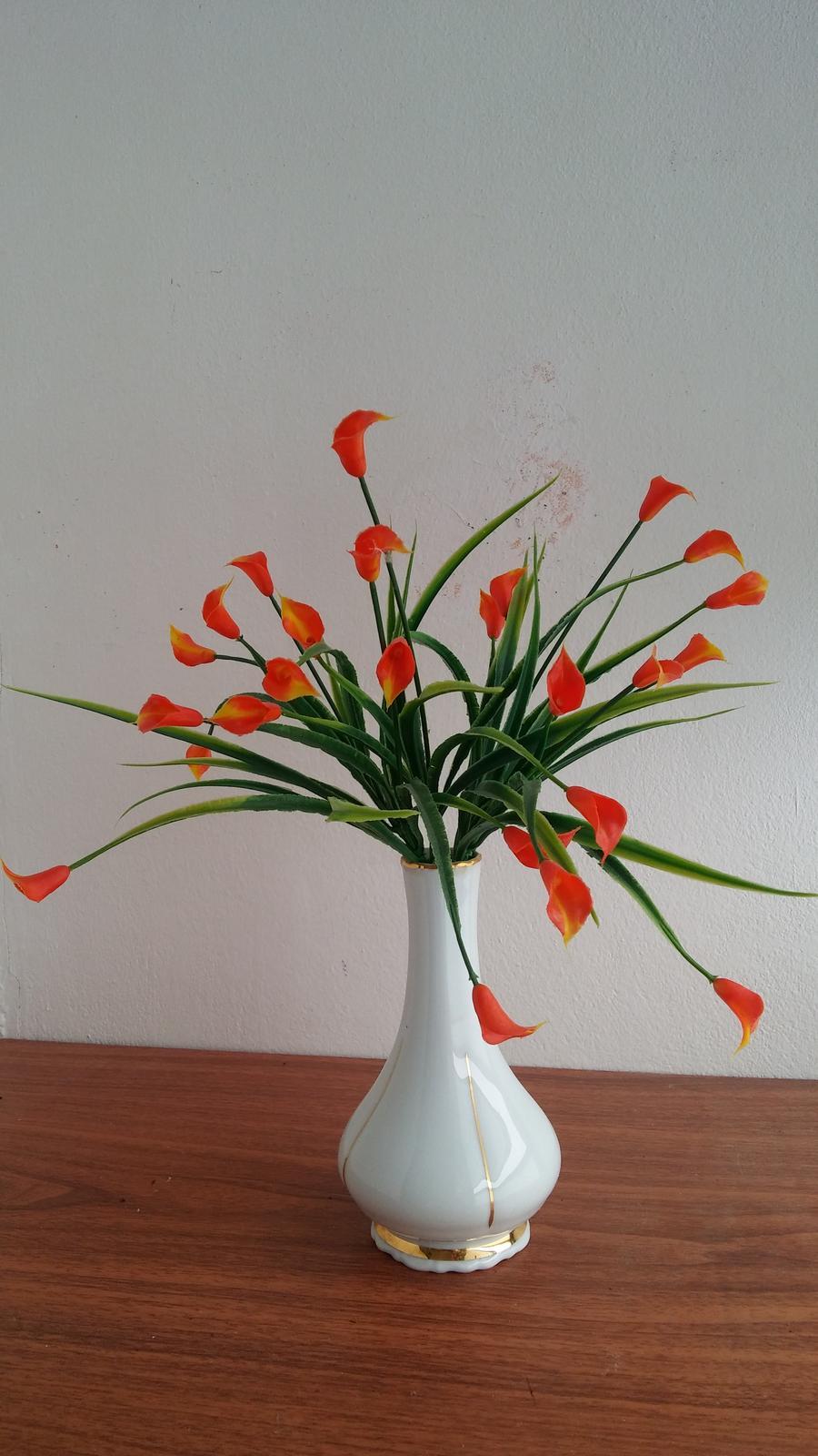 Oranžove kvety - Obrázok č. 1