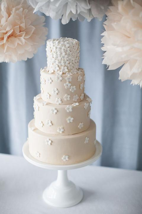 Kvietky, vázičky, svetielka a tortiská - naša predloha :)