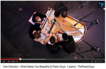 hudba k svadobnému videoklipu - PianoGuys musia byť ;)