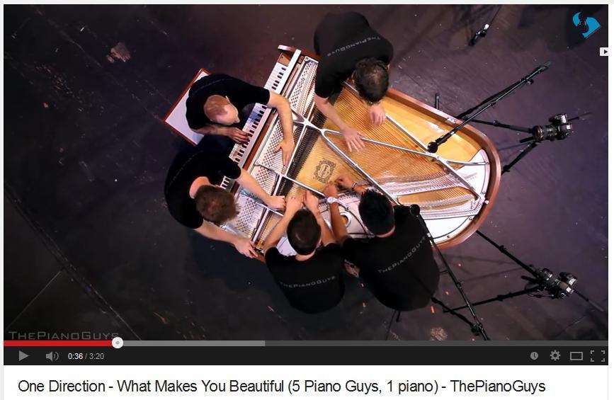 The First Day of Forever ♥ - hudba k svadobnému videoklipu - PianoGuys musia byť ;)