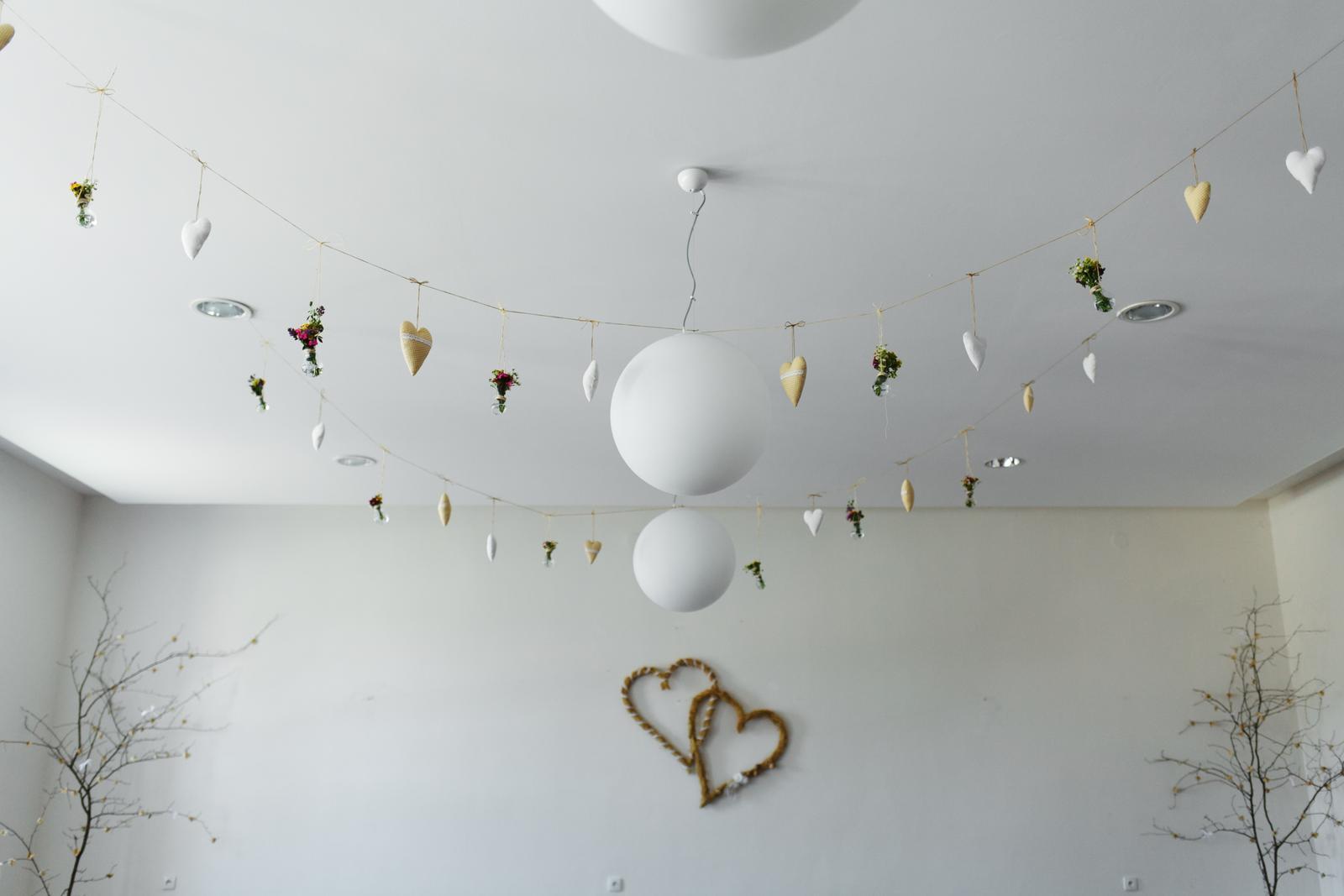 Zdobené s láskou :) naša svadobná výzdoba - Obrázok č. 2