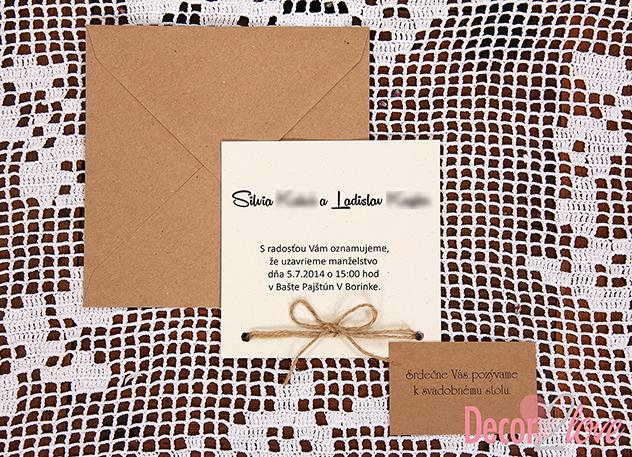 Wedding invitations ♥ - Obrázok č. 28